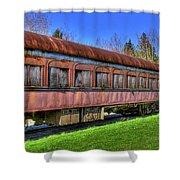 Train No. 91 Shower Curtain