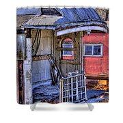 Train No. 92 Shower Curtain