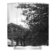 Train Station In Deerfield Beach Shower Curtain