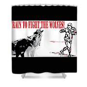 Train To Fight Shower Curtain