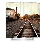 Sunrise At The Old Mill  Shower Curtain