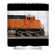 Train Shower Curtain