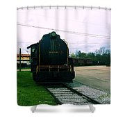 Trains 3 7 Shower Curtain