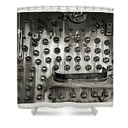 Trains 4 4a Shower Curtain