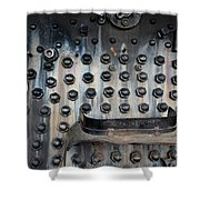 Trains 4 5 Shower Curtain