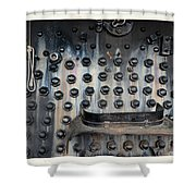 Trains 4 5a Shower Curtain