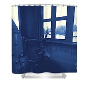 Trains 5 3 Shower Curtain
