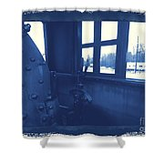 Trains 5 3a Shower Curtain