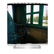 Trains 5 7a Shower Curtain
