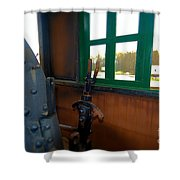 Trains 5 Selfoc Shower Curtain