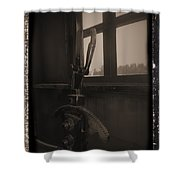 Trains 6 1a Shower Curtain