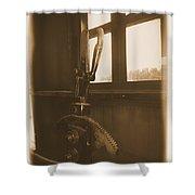 Trains 6 2a Shower Curtain