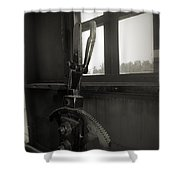 Trains 6 4 Shower Curtain