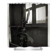 Trains 6 4a Shower Curtain