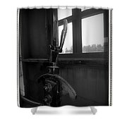Trains 6 6a Shower Curtain