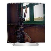 Trains 6 Vign Shower Curtain