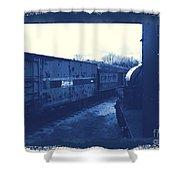 Trains 7 3a Shower Curtain