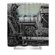 Trains Ancient Iron Sc Shower Curtain