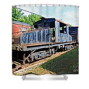 Trainyard 7 Shower Curtain