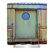 Trainyard 9 Shower Curtain