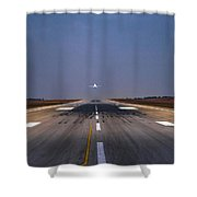 Trajectory  Shower Curtain