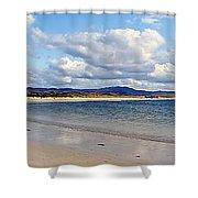 Tramore Beach Donegal Shower Curtain