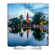 Tran Quoc Pagoda Shower Curtain