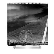 Tran Thi Ly Bridge Shower Curtain