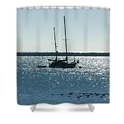 Tranquil Bay Shower Curtain
