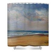 Tranquil Beach Shower Curtain