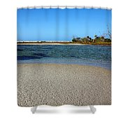 Tranquil Blue Shower Curtain