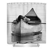 Tranquil On Chautaqua Lake Shower Curtain