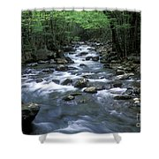 Tranquil Moments On Little Pigeon Creek Shower Curtain