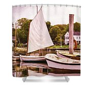 Tranquil Morning Shower Curtain
