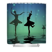 Tranquil Persuasion Shower Curtain