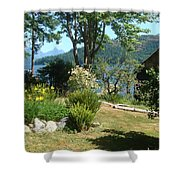 Tranquility At Egmont Shower Curtain