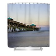 Tranquility At Folly Shower Curtain