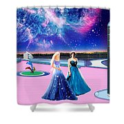 Tranquility Lake Shower Curtain
