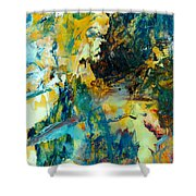 Tranquility Man #307 Shower Curtain