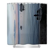 Tranquility On Sebago Shower Curtain