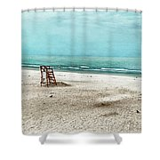 Tranquility On Tybee Island Shower Curtain