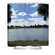 Tranquility - Port Richey, Florida Shower Curtain