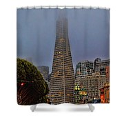 Trans American Building -1 Shower Curtain