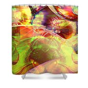 Transabstrct-20 Shower Curtain