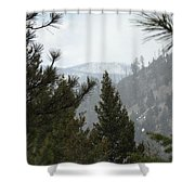 Transcendental  Introspection Shower Curtain