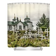 Transfiguration Of Our Lord Church Shower Curtain
