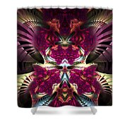 Transfigured Future Shower Curtain