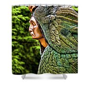 Transformation Through Forgiveness Shower Curtain