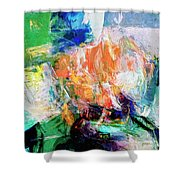 Transformer Shower Curtain