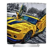 Transformers Bumble Bee 2 Shower Curtain